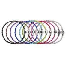 Pulsera Trenzada en colores para Charms