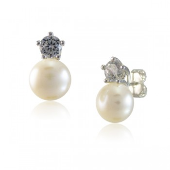 Perla y Circonita con garras curvas