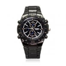 Reloj acero gris