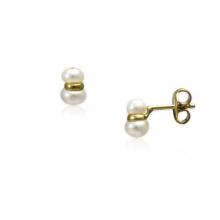 Pendiente Mini 2 Perlas